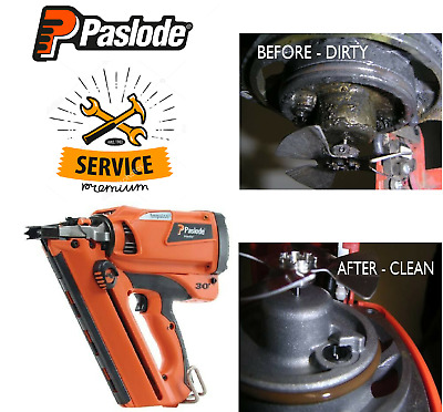 Paslode Im350 Im350+  Im350+ Li-Ion First Fix Nail Gun Service + Repairs