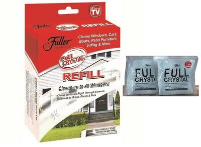 Fuller Brush Full Crystal Refills As Seen On TV NEW