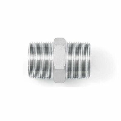 BSP Hexagon Nipple - A4 (T316) Marine Grade Stainless Steel