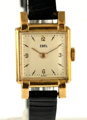 Ebel - Square - Mechanical - 1960 - Gold Plated - NOS