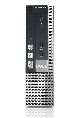 ULTRA FAST DELL 9010 GAMING COMPUTER INTEL CORE i7 3770 @ 3.40GHz 8GB RAM 1TB HD