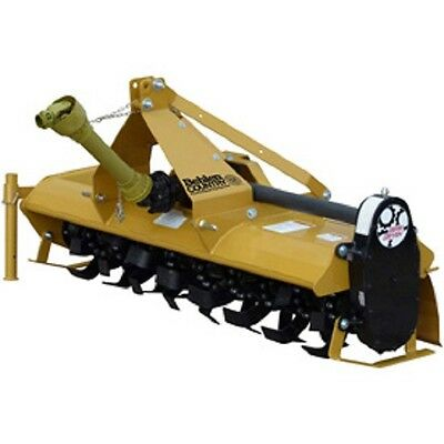 NEW! 6' Gear Driven Rotary Tiller Implement with Adjustable Feet Category 1!!
