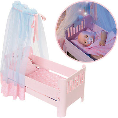 Zapf Creation Baby Annabell Sweet Dreams Bett (Rosa)