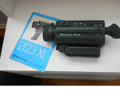 Bell & Howell 2143 XL Movie Camera with 8.5-24mm Zoom Lens -- Free Shipping