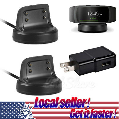 TX USB Charging Cable Charger Dock Station For Samsung Gear Fit 2 Smart Watch sl