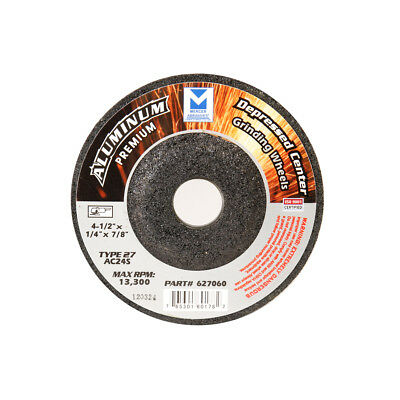 """5 Pack 4-1//2/"""" x 1//4/"""" x 7//8/""""  BHA Grinding Wheels for Aluminum and Soft Metals"""