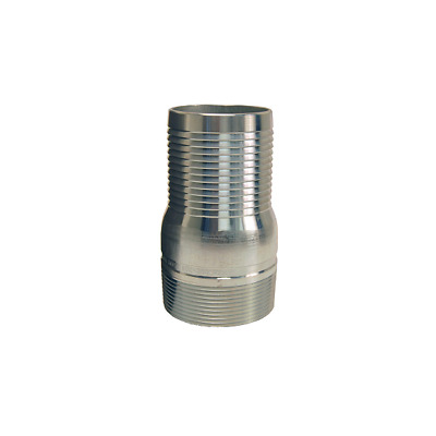 DIXON STC35 Plated Steel 3 inch King Combination Nipple NPT Threaded