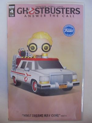 Ghostbusters: Answer the Call #4 B Cover IDW NM Comics Book