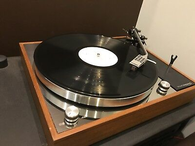 thorens TD150 td 150 top face plate mirror polished stainless steel with options