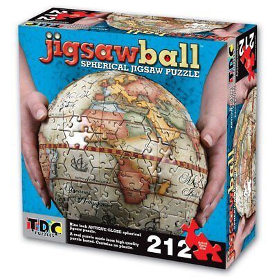 Ravensburger illustrated world map globe 3 d jigsaw puzzle ball 240 tdc games jigsaw ball spherical antique 9 3d globe puzzle 212 pieces brand new gumiabroncs Choice Image