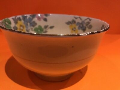 A15459 Crown Staffordshire Sugar Bowl, 3 Inches By 5 Inches. No Damages