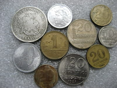 .Coin Brazil lot of 10 coins