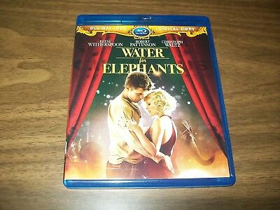 Water For Elephants Bluray & Dvd + Digital Copy 3 Disc Set Reese Witherspoon