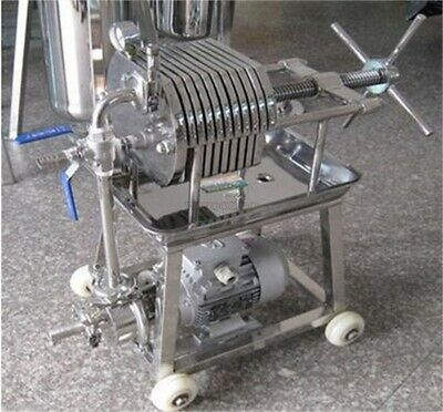 Stainless Steel 150 Filter Press Filter Machine Laboratory Filtration Equipme ul