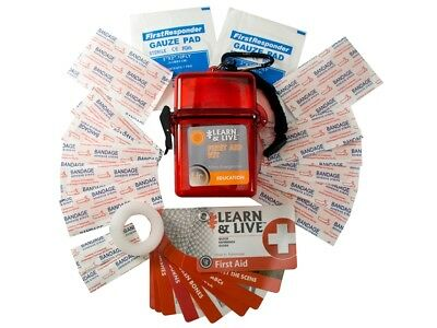 Ultimate Survival Tech UST Learn & Live Survival Kit First Aid MPN: 20-02747