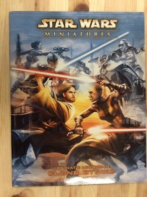 Star Wars Miniatures Ser. Accessory: Ultimate Missions : Clone Strike