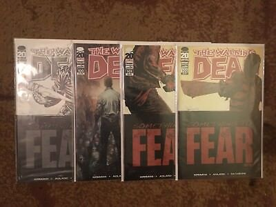 Walking Dead Comic Lot Of 4 NM #100 Comic Con, #100,101,102