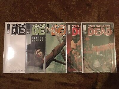 Walking Dead Comic Lot Of 5 NM #109,109,110,111,112