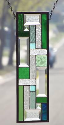 •Tranquility •Stained Glass Window Panel • Signed &Numbered#2282