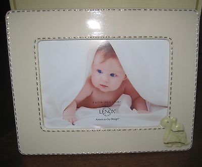 Lenox Turtle Turtles Boy Girl Baby Adorable 5 X 7 1st Quality  Picture Frame NEW