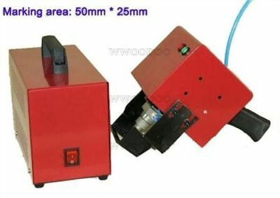 For Marking Small Parts Dot Pin Marking Machine 50*25MM Hand Held ug