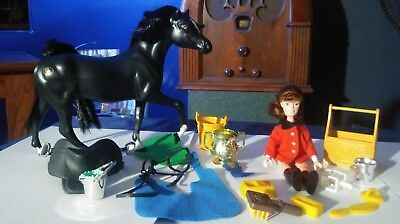 Vintage 1988-93 Toy Marchon Doll Horse Riding Accessories Grand Champions Toys