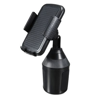 360 Degree Adjustable Car Cup Holder Stand Cradle Mount For iPhone Phone Fo V3G6
