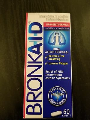 3 BOX BRONKAID 60 SAME DAY FREE SHIP NEW SEALED  Exp 2019 or later.