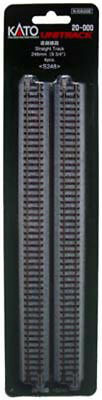 """Kato 20-000 248mm (9 3/4"""") Straight Track S248 (N scale)"""