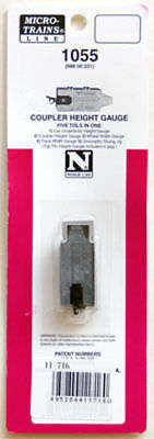 Kato 11-716 Coupler Height Gauge (N scale)
