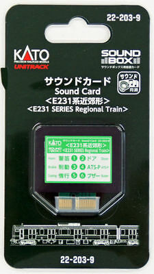 Kato 22-203-9 UNITRACK Sound Card (Series E231 Regional Train) (N scale)