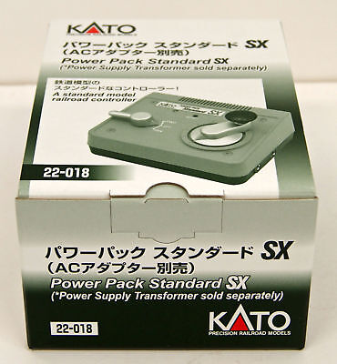 Kato 22-018 Power Pack Standard SX (*Power Supply Transformer Sold Separately)