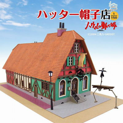 Sankei MK07-03 Studio Ghibli Hatter Hat Store Howl's Moving Castle 1/150 Scale