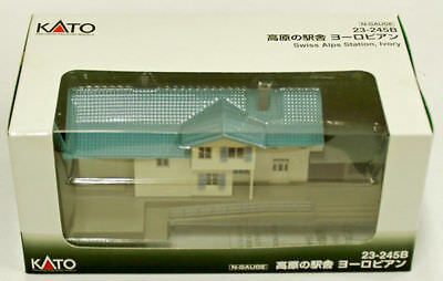 Kato 23-245B Swiss Alps Glacier Express Station (Ivory) (N scale)