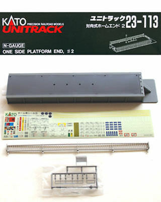 Kato 23-113 One Side Platform End #2 (N scale)