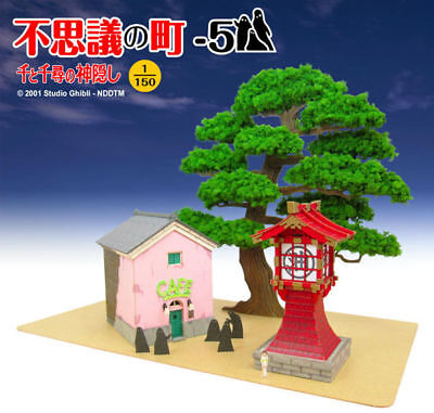Sankei MK07-28 Studio Ghibli Mysterious Town E (Spirited Away) 1/150 Scale