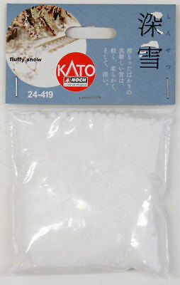 Kato 24-419 Japanese Fluffy Snow (N scale)