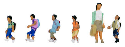 "Kato 24-245 Model People ""Going to School 3 (Children)"" (N scale)"