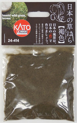 Kato 24-414 Japanese Humid Wild Grass, Brown (Kasshoku) (N scale)