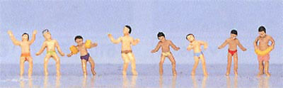"Kato 24-217 Model People ""Children Swimming"" (N scale)"