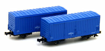 Kato 8033 Freight Car WAMU 380000 Blue 2 Cars (N scale)