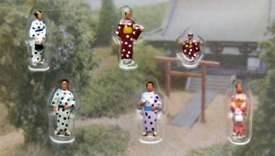 "Kato 24-248 Model People ""People in Kimono 2 (Japanese Dress)"" (N scale)"
