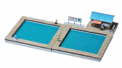 Tomytec (Komono 092) Fishing Pond 1/150 N scale