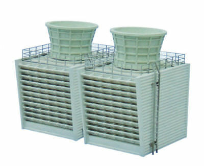 Tomytec (Komono 073) Manufacturing Plant B (Cooling Tower) 1/150 N scale