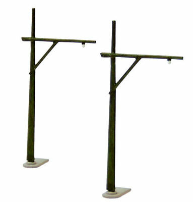 Tomytec (Komono 021-2) Catenary Pole B2 (Single Overhead Mast) 1/150 N scale