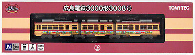 Tomytec 286899 Hiroshima Electric Railway Type 3000 No.3008 (N scale)