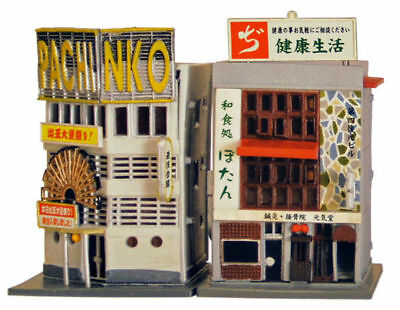 Tomytec (Building 086-2) Japanese Restaurant & Pachinko B 1/150 N scale