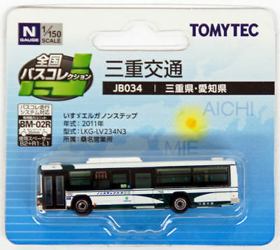 "Tomytec The Bus Collection ""Mie Kotsu Bus (Mie/Aichi)"" (JB034) 1/150 N scale"