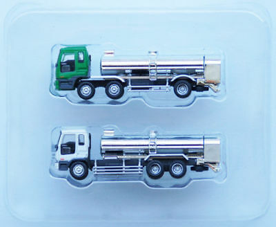 """Tomytec The Truck Collection """"2 Truck Set H"""" (Tank Lorry) 1/150 N scale"""