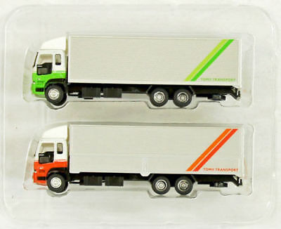 """Tomytec The Truck Collection """"2 Truck Set J"""" 1/150 N scale"""